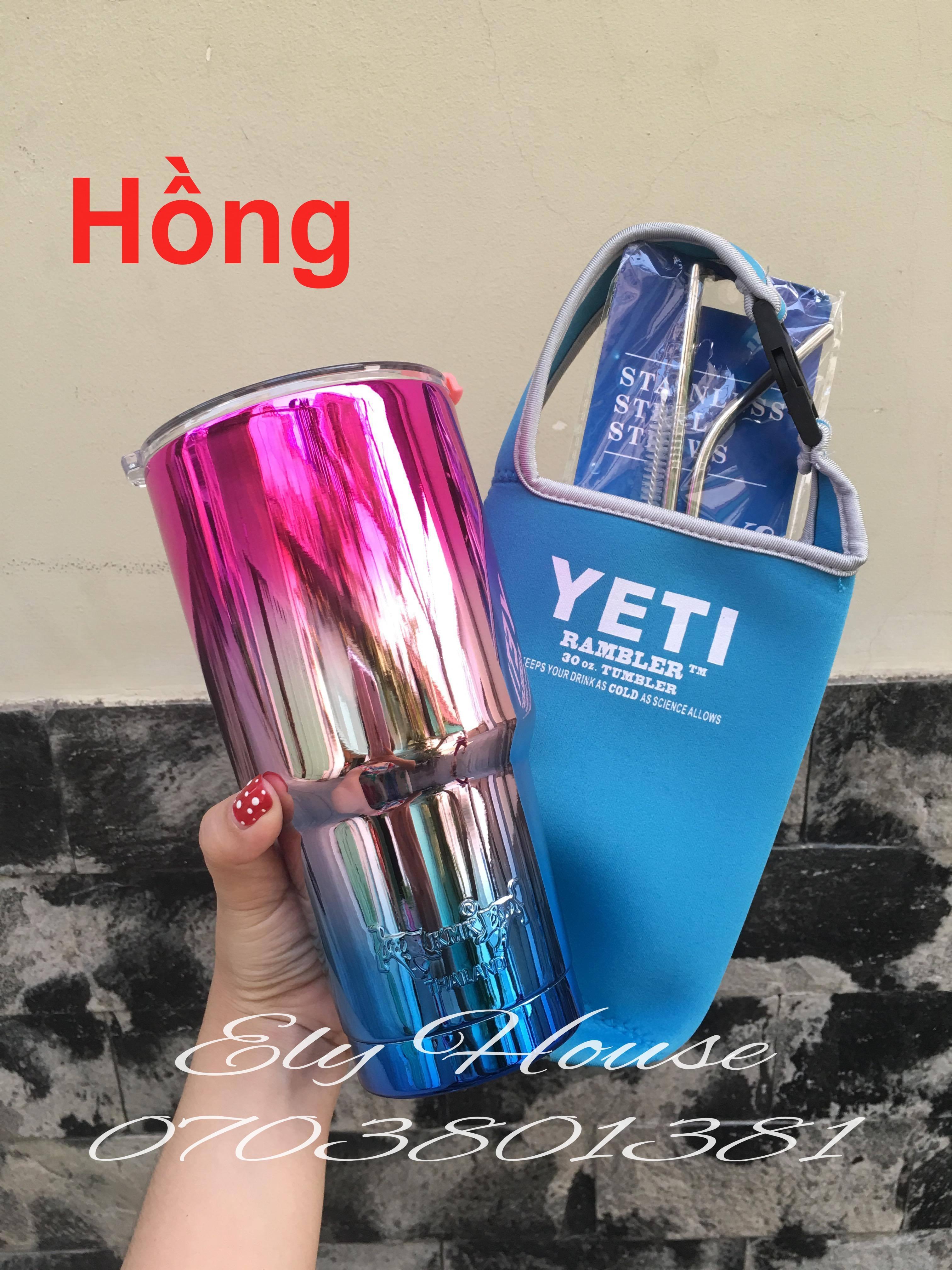 LY GIỮ NHIỆT THAILAND (Combo Ly+túi+ốnghút)