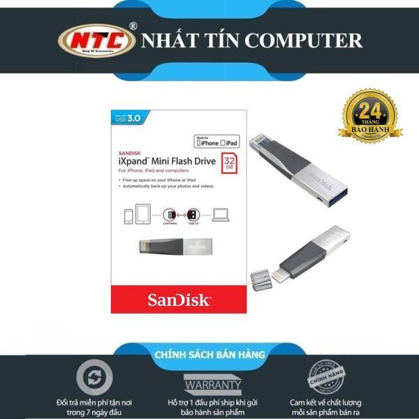 Bảng giá USB 3.0 OTG SanDisk iXpand™ Mini Flash Drive 32GB (Bạc) - Nhất Tín Computer Phong Vũ
