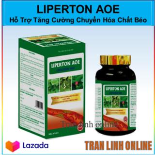 Tăng Cường Chuyển Hóa Chất Béo LIPERTON AOE - Giảm Cholesterol Trong Máu , Hỗ Trợ Giảm Béo thumbnail