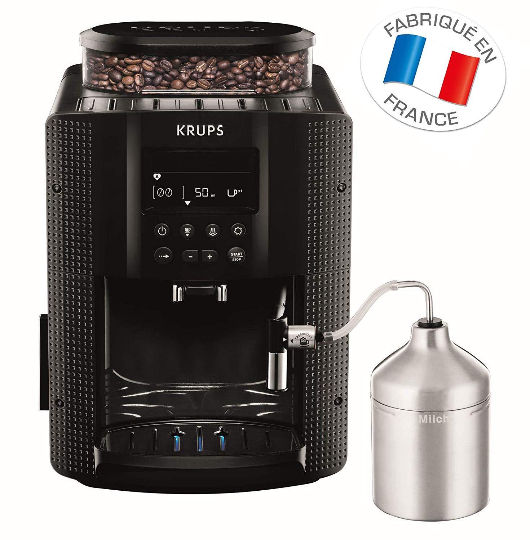 Máy pha cafe tự động Krups EA 8160, vòi phun sữa tự động