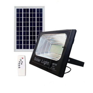 Đèn led pha năng lượng mặt trời 40W thumbnail