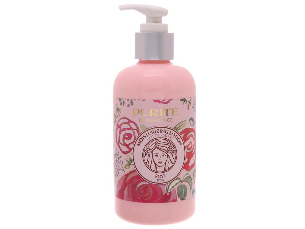 Sữa dưỡng thể Purité mềm mịn hoa hồng 250ml cao cấp