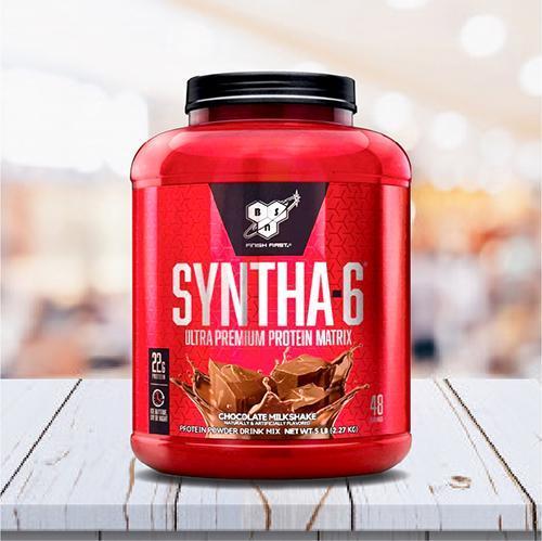 BSN SYNTHA-6 CHOCOLATE 5LB - 2.27 Kg - Tăng cơ, giảm mỡ cho Thể thao, Gym, Yoga, Fitness + Khăn tập sợi tự nhiên