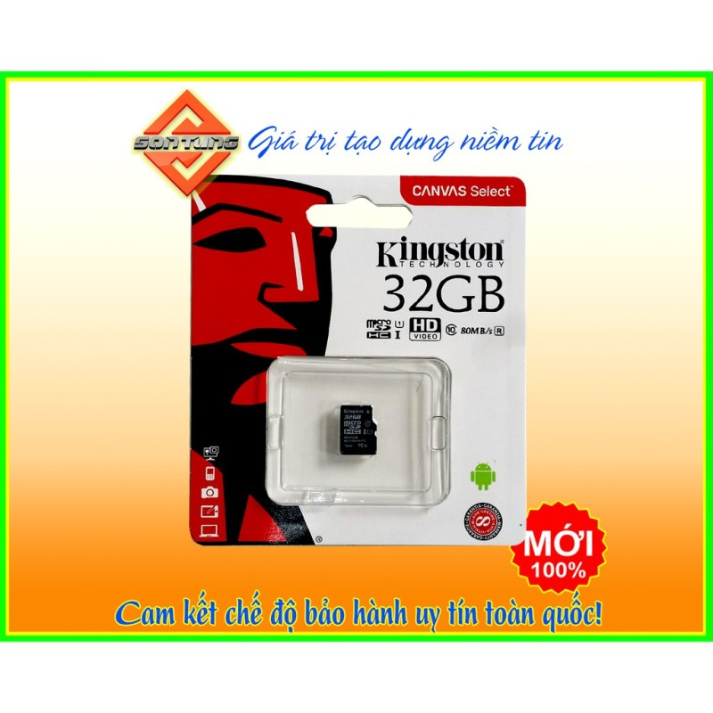 Thẻ nhớ micro sd kingston 32GB
