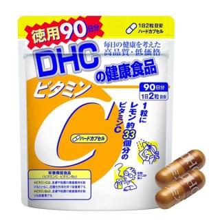 (Gói 180 viên 90 ngày) Viên uống DHC Vitamin C tăng sức đề kháng, ngăn ngừa lão hóa, tăng sinh collagen và làm sáng da thumbnail
