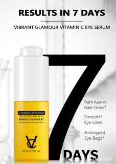 VG Serum Mắt Vitamin C Cấp Nước Dưỡng Ẩm Chống Lão Hóa Giảm Quầng Thâm Moisturizing Anti-Aging Eye Serum thumbnail