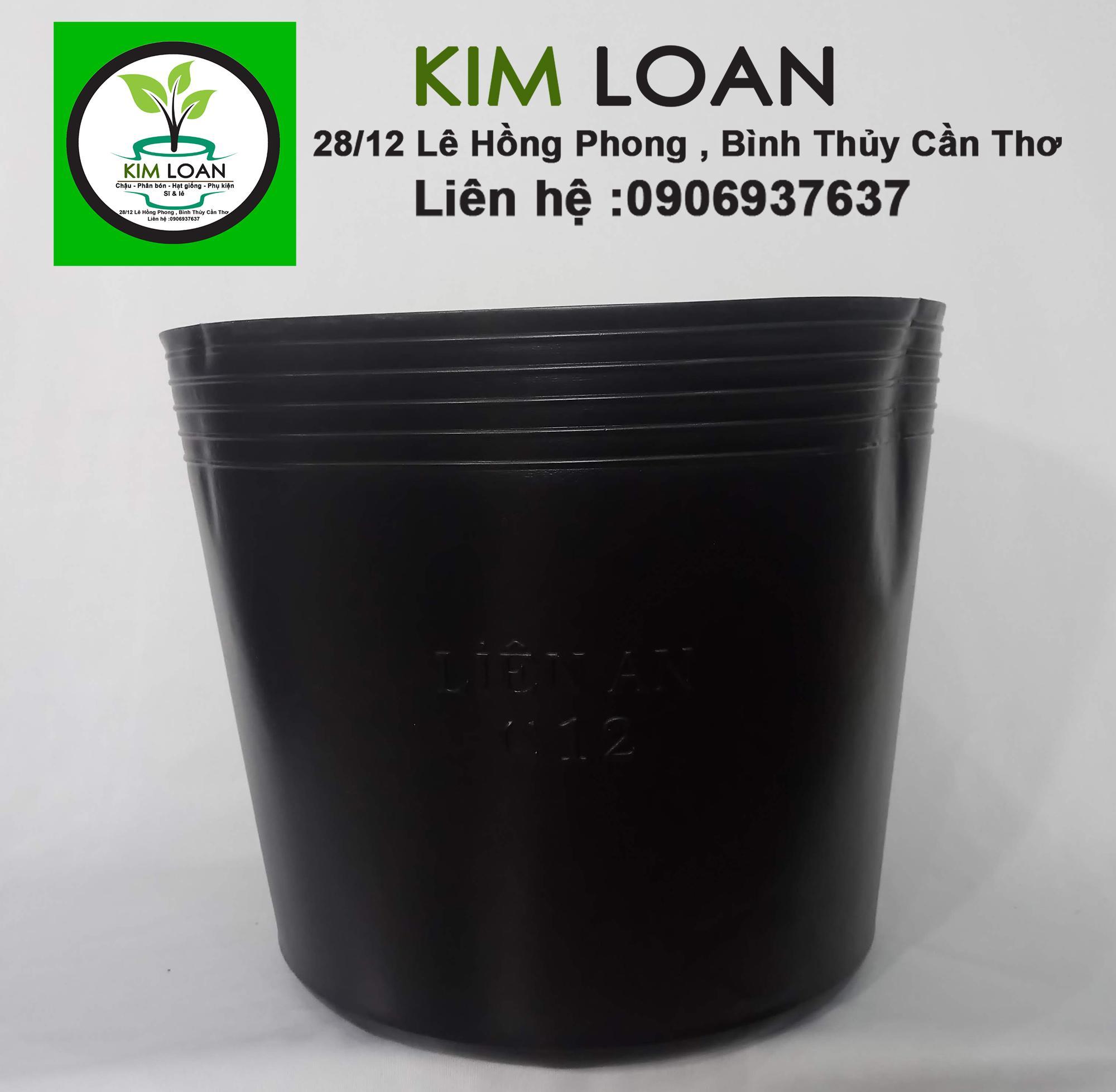 Combo 100 chậu nhựa mềm C11 27x23cm