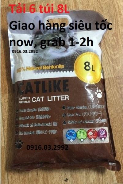 Cát Vệ Sinh Cho Mèo - Cát 8l Cafe