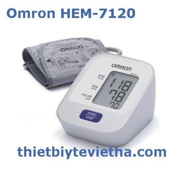 Nơi bán Máy đo huyết áp bắp tay điện tử Omron HEM-7120
