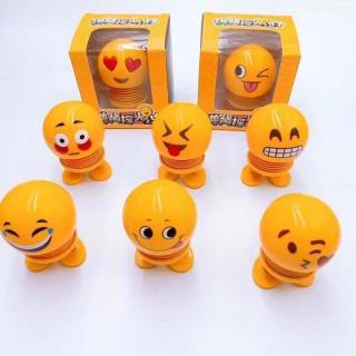 CMOBO 6 Thú Nhún Emoji con lắc lò xo con nhún 5