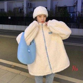 Áo khoác lông cừu pichi - HS5754 thumbnail