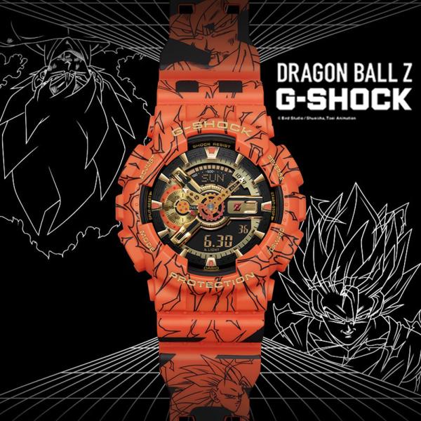Đồng hồ Casio G-Shock Dragon Ball GA-110 - Đồng hồ thể thao G Shock Nam Phiên Bản Giới Hạn - Bảy Viên Ngọc Rồng - Đồng Hồ Casio