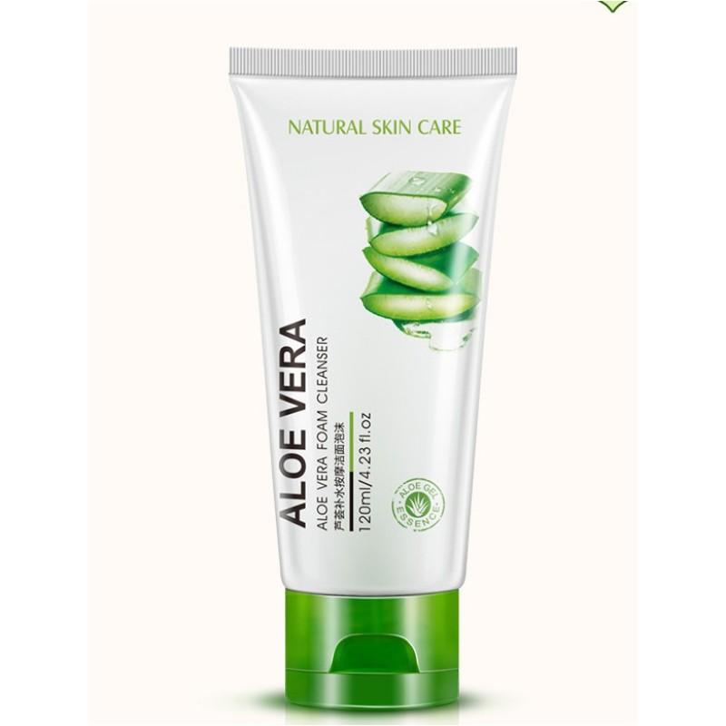 Sữa rửa mặt tinh chất lô hộ dịu nhẹ Aloe Vera  - Làm sạch da mà không bị khô - SHTP018