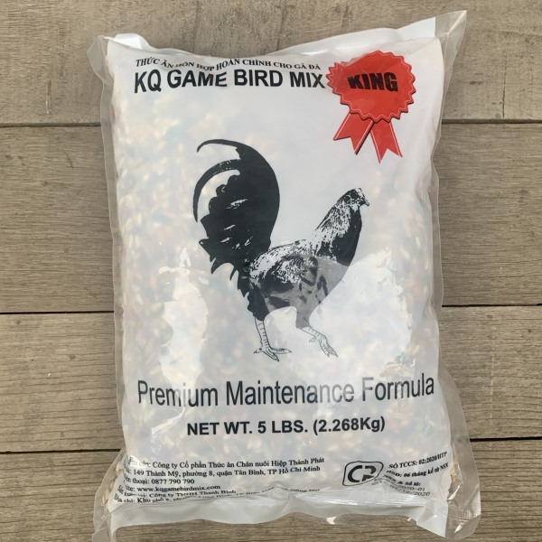 Ngũ Cốc Gà Đá GameBird KQ Bịch 2.26kg