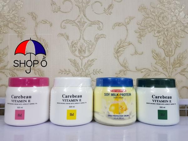 Kem dưỡng trắng da Carebeau Thái Lan 500ml