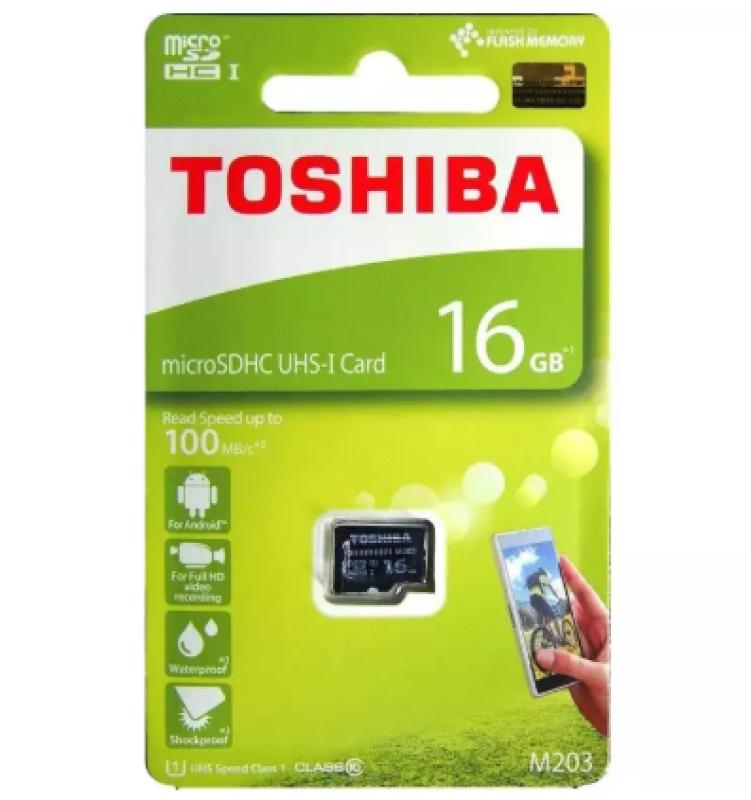 Thẻ nhớ MicroSD 16GB/32GB TOSHIBA Box Class10 90MB/s