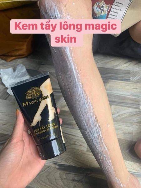 Tẩy lông - Kem tẩy lông Magic skin sạch sẽ không đau đớn