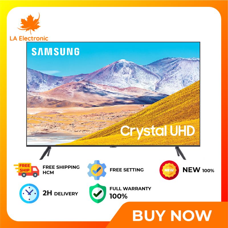 [GIAO HÀNG 2 - 15 NGÀY, TRỄ NHẤT 15.08] Trả Góp 0% - Smart Tivi Samsung 4K 50 inch UA50TU8100 - Miễn phí vận chuyển HCM chính hãng