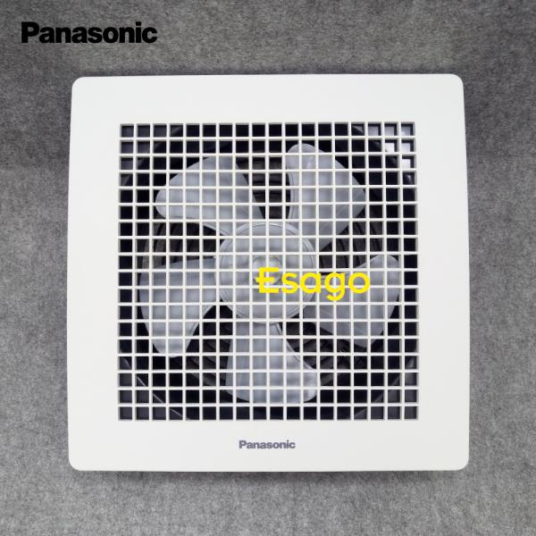 Quạt hút thông gió âm trần Panasonic 30W dùng cho diện tích phòng khoảng 38 mét vuông
