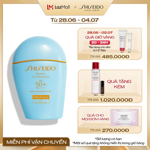 Kem chống nắng dạng sữa dành cho da nhạy cảm Shiseido GSC Perfect UV Protector S 50ml cao cấp