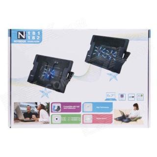 Đế tản nhiệt Laptop CoolingPad N182+ Tặng kèm tấm lót bàn phím 14 IN thumbnail
