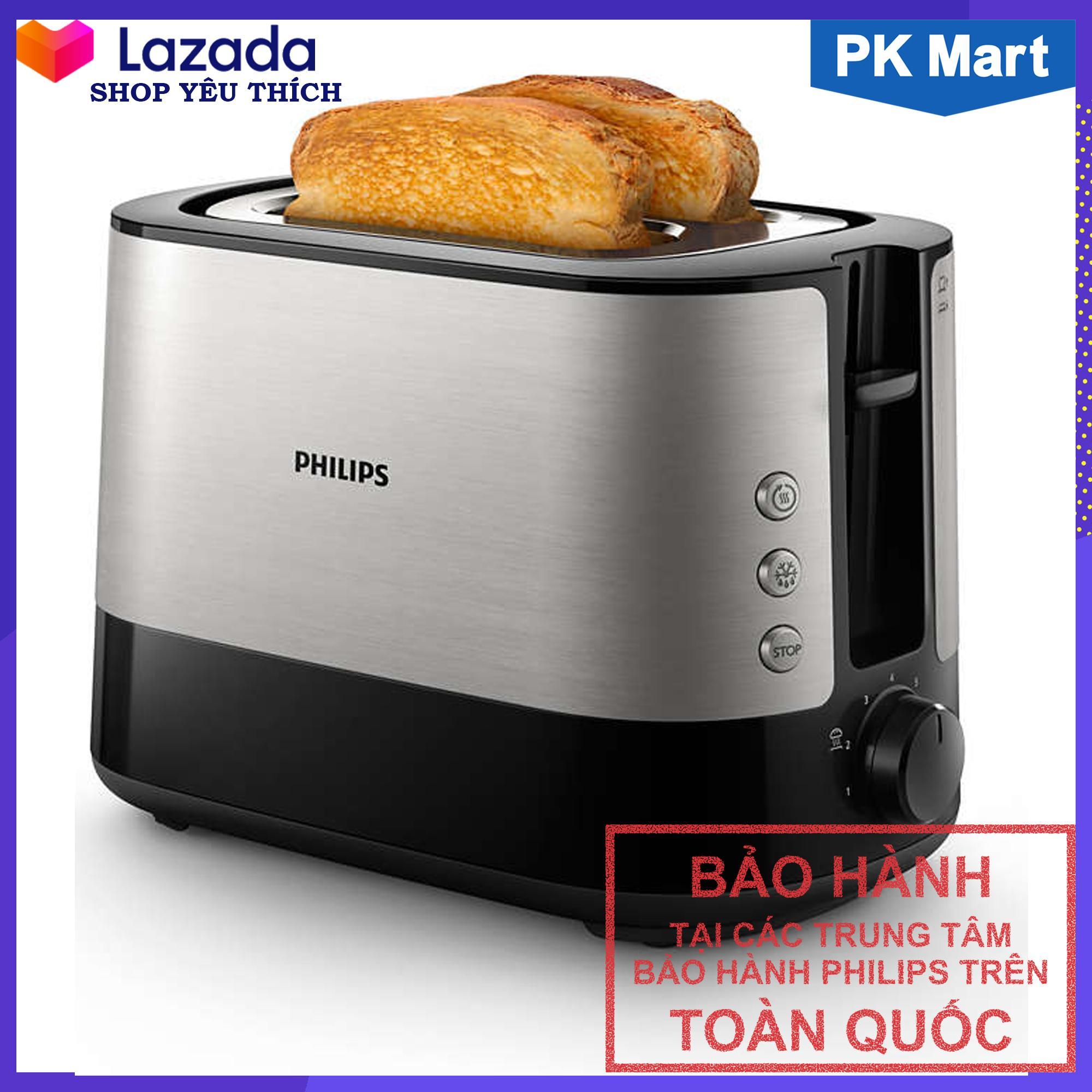 Máy nướng bánh mì Philips HD2637 (Đen) -