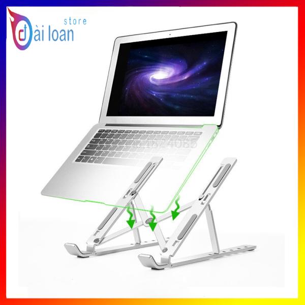 Bảng giá Giá Đỡ Tản Nhiệt Cho Laptop, Macbook, Máy Tính Bảng Chất Liệu Hợp Kim Nhôm Siêu Chắc, Xếp Gọn Tiện Dụng Phong Vũ