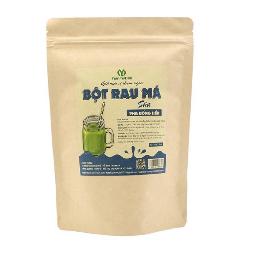 Bột rau má Sữa tiện lợi Yummy Deli - 150g