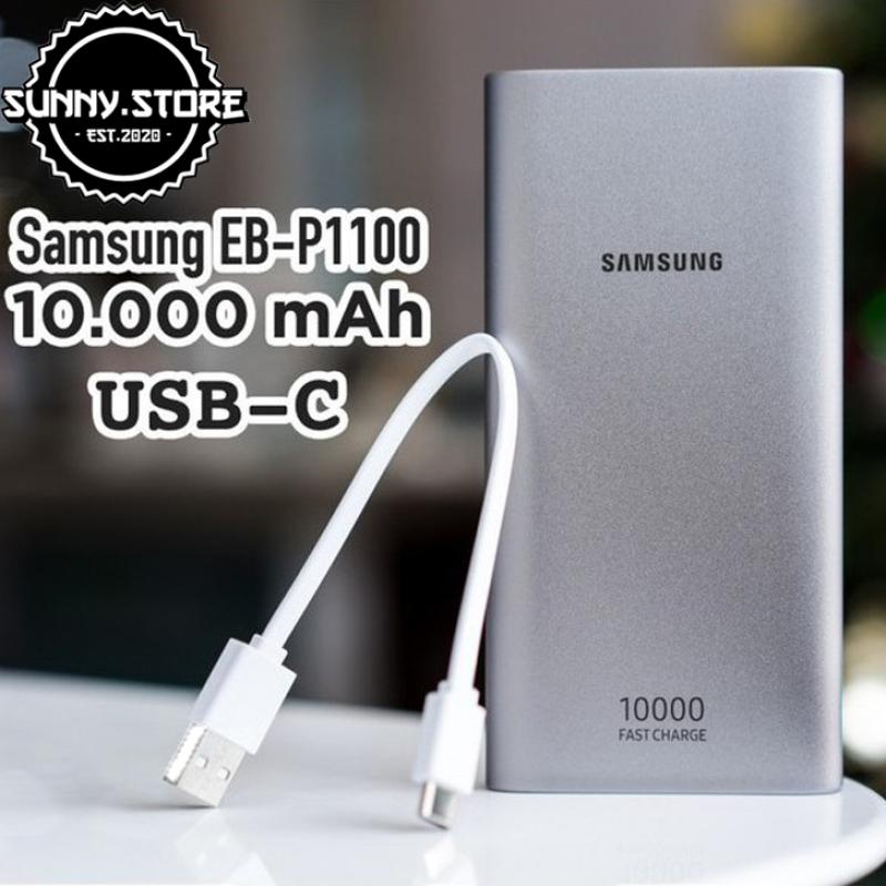 Sạc dự phòng,Pin sạc dự phòng Samsung 10.000 mAh hỗ trợ sạc nhanh 15W, 2 cổng sạc l Sạc dự phòng samsung chính hãng, bảo hành 12 tháng