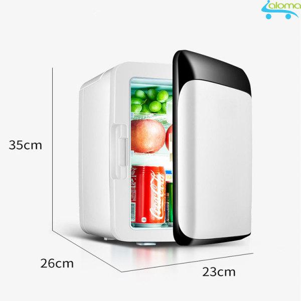 Tủ lạnh mini 2 chế độ nóng 60 độ lạnh 2 độ 10 lít MarryCar MR-TL10L dùng nguồn điện 220v và 12v