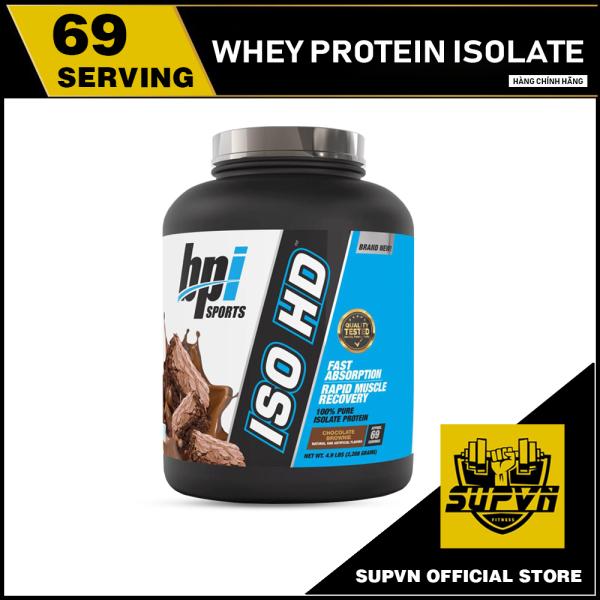 Whey Iso HD Bpi 5lbs Sữa tăng cơ bắp Whey Isolate Protein 100% -  ISOHD Bpi sport cao cấp