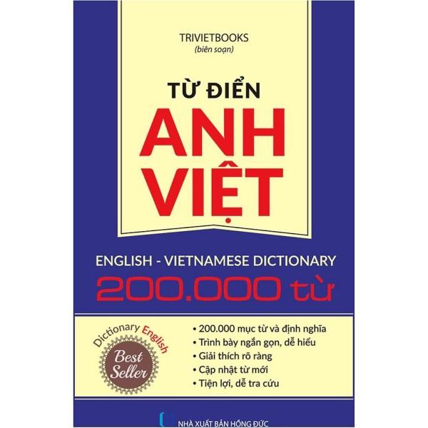 Mua Từ Điển Anh Việt 200.000 Từ