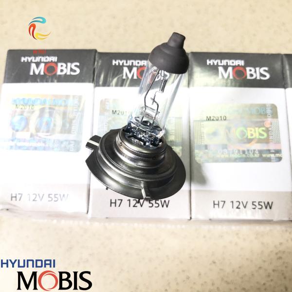 Bóng đèn halogen H7 MOBIS lắp cho đèn gầm xe Hyundai Kia Toyota