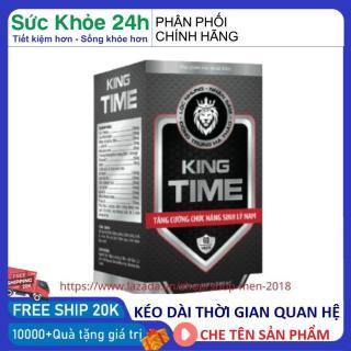 Viên uống Bổ Thận Nam KING TIME tăng cường sinh lý nam, bổ thận, tráng dương - Hộp 30 viên HSD 2024 thành phần thảo dược thumbnail