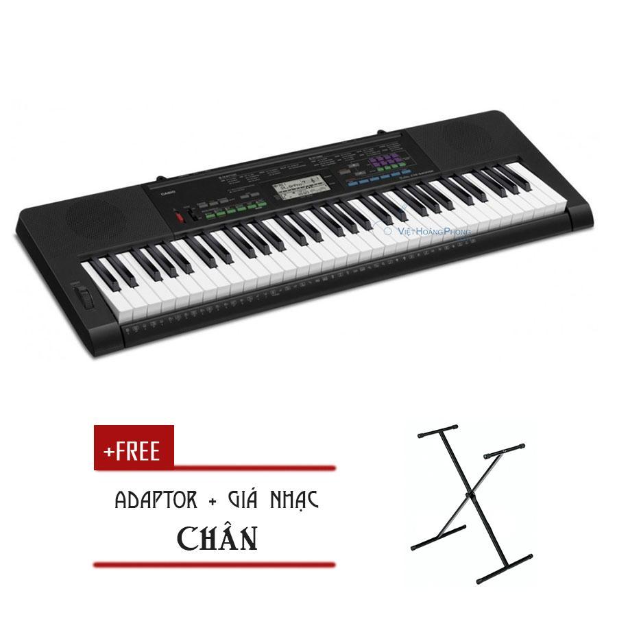 Giá Tiết Kiệm Để Sở Hữu Ngay Đàn Organ Casio CTK-3400 Kèm AD - Chân ( CTK3400) - HappyLive Shop