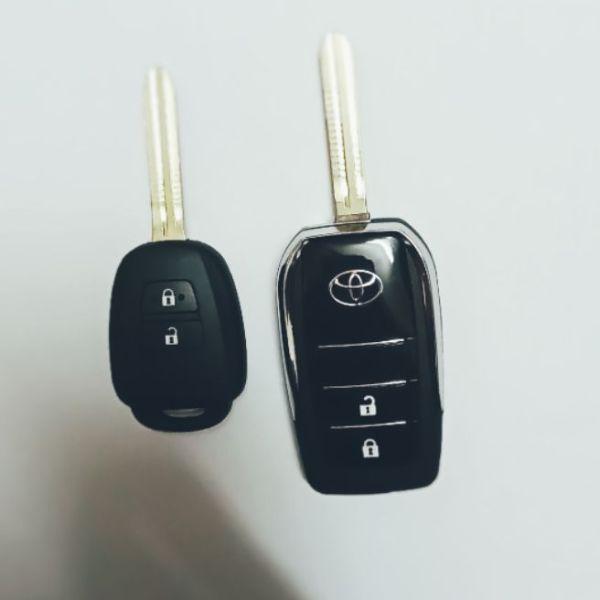 Vỏ độ chìa khoá gập Toyota Vios 2014-2017