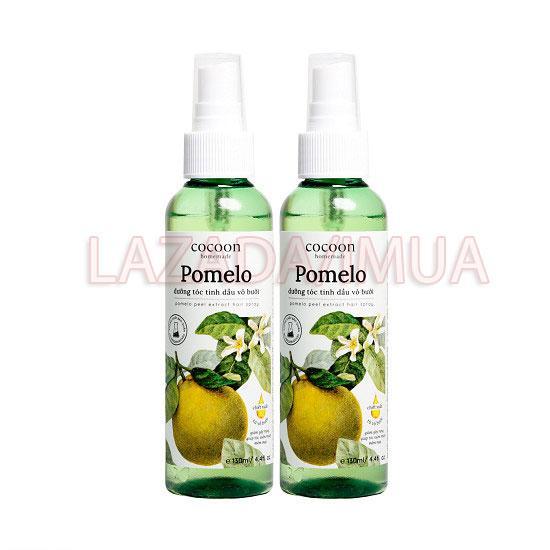 Combo 2 Pomelo dưỡng tóc tinh dầu vỏ bưởi Cocoon 2*130 ml