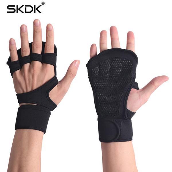 Bảng giá Găng tay tập gym kết hợp bảo vệ cổ tay silicon thời trang cao cấp