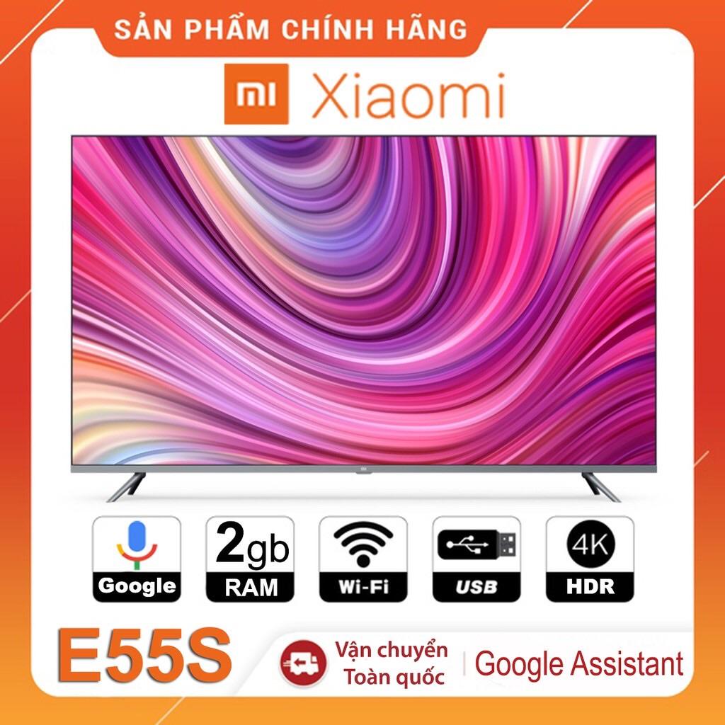 Bảng giá Tivi Xiaomi E55S Pro 55 inch 4K- Hỗ trợ điều khiển giọng nói Tiếng Việt