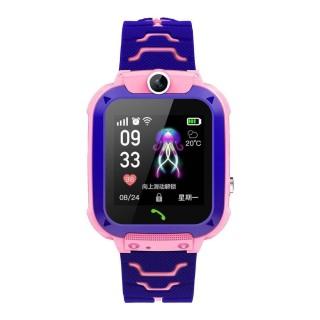 Đồng hồ thông minh định vị trẻ em Q12 nghe gọi 2 chiều lắp sim 4G chống nước Ip68 có tiếng việt thumbnail