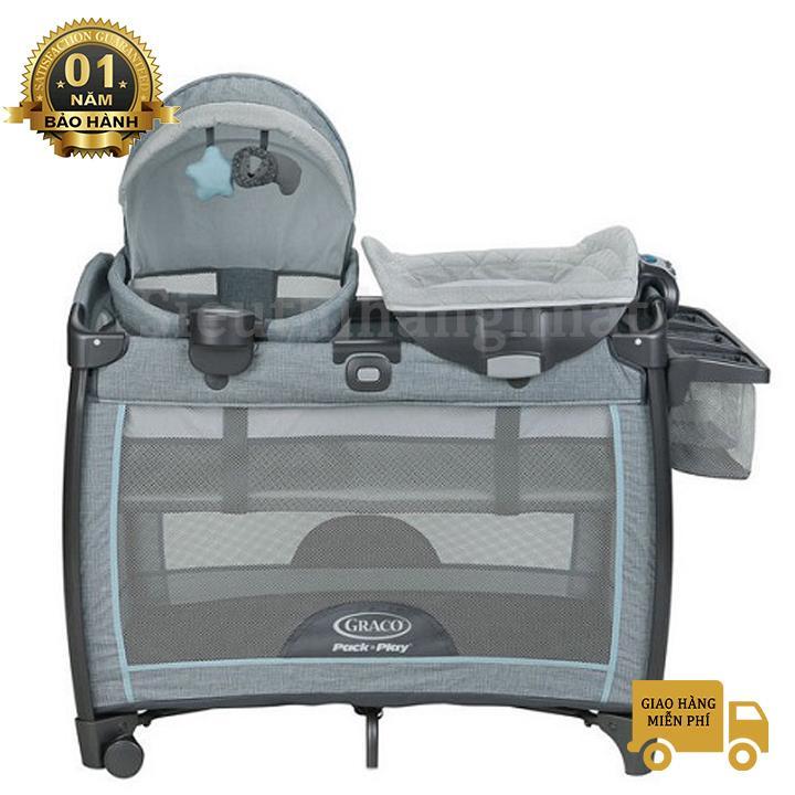 Giường cũi Graco Portable Napper & Changer Day2Dream BS Layne