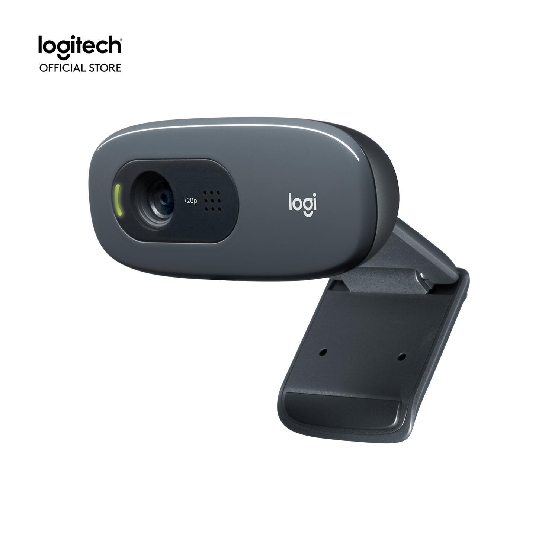 Webcam Logitech C270 HD - Dành cho Gọi Video góc rộng với micro giảm tiếng ồn và tự động chỉnh sáng, cắm và sử dụng ngay