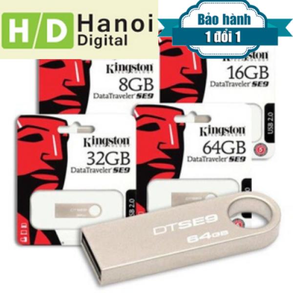 Bảng giá USB Kingston 4Gb/8Gb/16Gb DTSe9  - DUNG LƯỢNG THỰC Phong Vũ