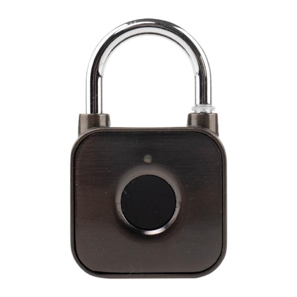 Smart Fingerprint Small Padlock Luggage Anti-Theft Smart Password Lock Student Dormitory Office Cabinet Fingerprint Padlock