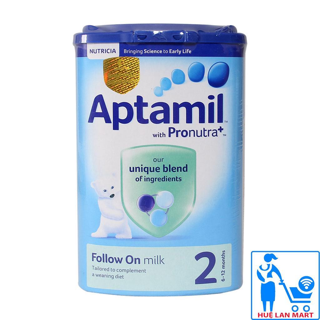 Sữa Bột Aptamil Follow On Milk 2 - Hộp 900g...