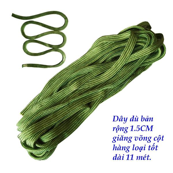 10 mét dây dù giăng võng cột hàng loại tốt bản rộng 1.5 cm