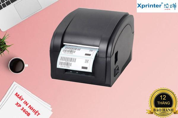 Máy in mã vạch Xprinter XP-360B - Hàng Nhập Khẩu