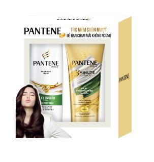 Bộ đôi Dầu gội Pantene 300g + Dầu xả Pantene 150ml
