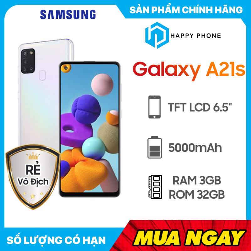 Điện Thoại Samsung Galaxy A21S ROM 32GB RAM 3GB - Hàng chính hãng, Nguyên seal, mới 100%, Bảo hành 12 tháng