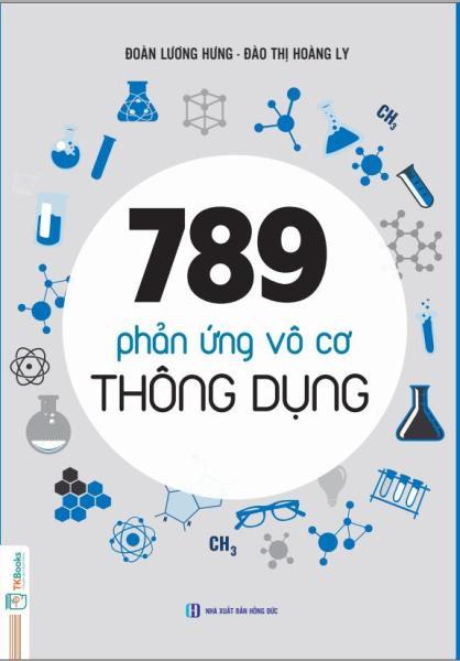 Mua 789 Phản ứng vô cơ thông dụng (Tái bản 2019)
